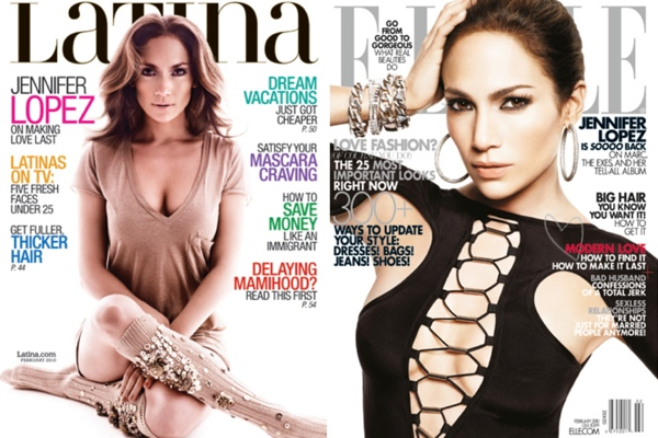 Jennifer Lopez - ELLE, Latina Magazines (February 2010)