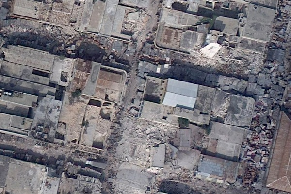 Aerial Satellite Images by Google Earth - Haiti after Earthquake