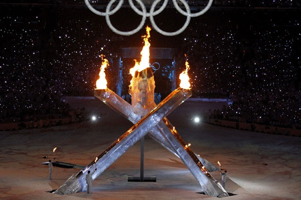 2010 Winter Olympic Games in Vancouver start