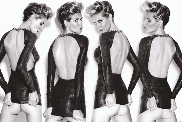 German Supermodel Heidi Klum by photographer Rankin