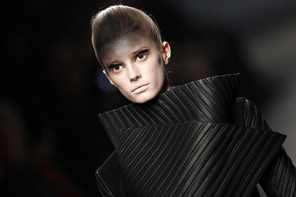 Gareth Pugh fashion show at Ready-to-Wear Fashion Week Paris