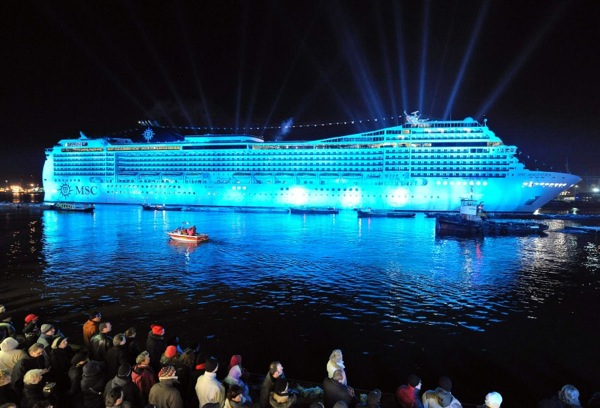 MSC Magnifica presentation in Hamburg