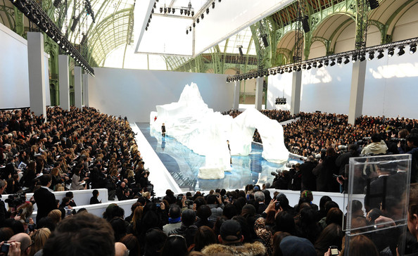 Chanel fashion show in Paris