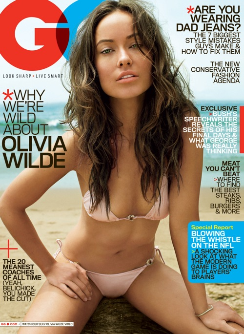 Olivia Wilde - GQ October 2009