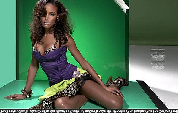 Selita Ebanks - Atlanta Peach Magazine