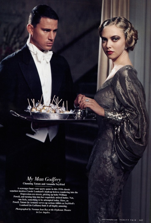 Amanda Seyfried and Channing Tatum - Vanity Fair