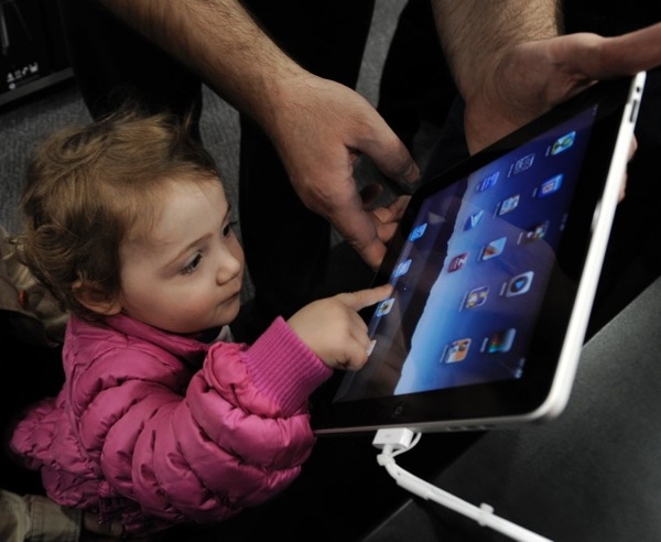 Apple iPad first sales