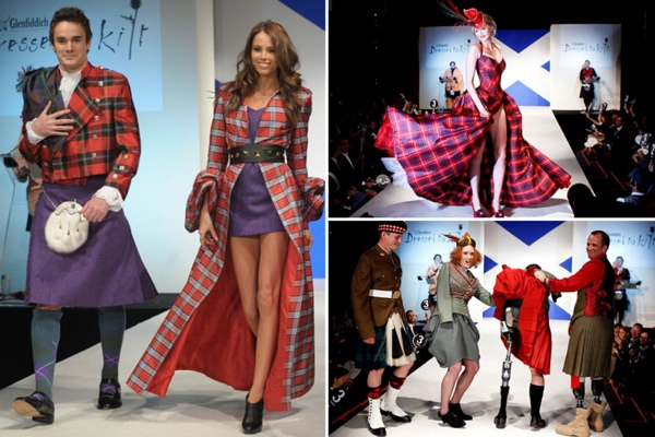 Модный показ Dressed to Kilt в Нью-Йорке