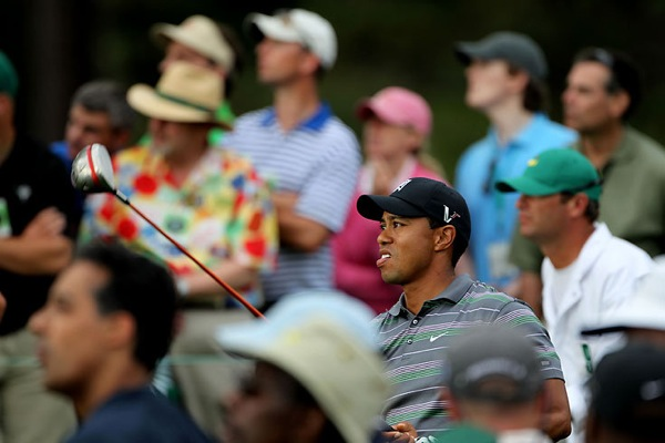 Tiger Woods returns to gold at Masters
