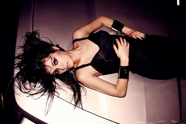 Mila Kunis featured in BlackBook BBook Magazine December 2009
