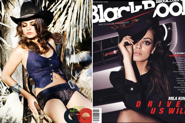 Мила Кунис (Mila Kunis) в журналах GQ, Esquire, BlackBook