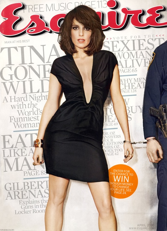 Tina Fey on the cover of Esquire USA April 2010