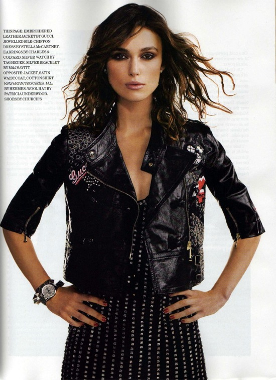 Keira Knightley - ELLE UK January 2008