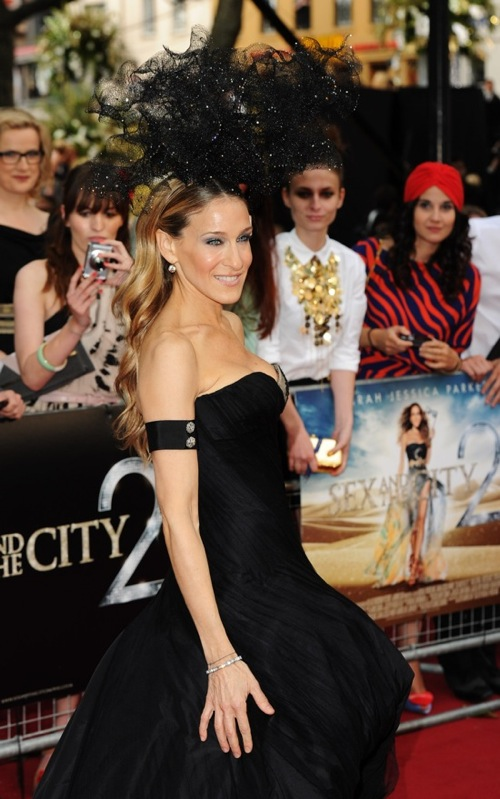 Sarah Jessica Parker at the Sex and the City part 2 London Premiere