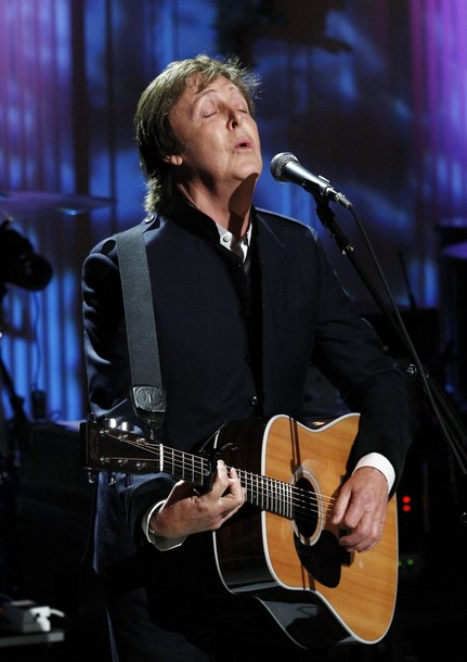 Paul McCartney concert at the White House