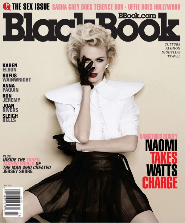 Naomi Watts - BlackBook Magazine May 2010