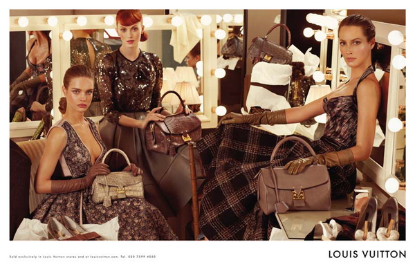 Рекламная кампания Louis Vuitton Осень 2010