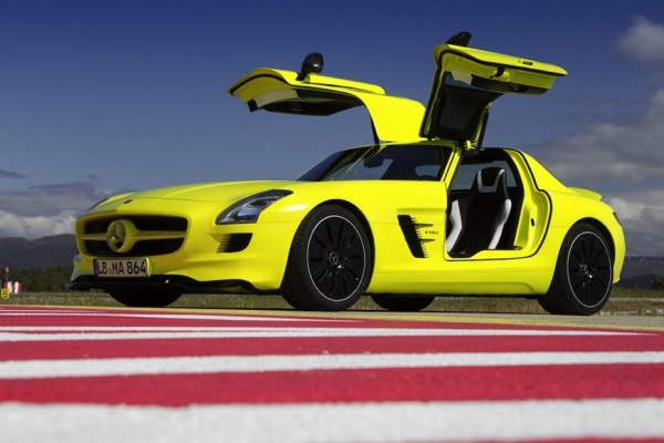 Mercedes-Benz SLS E-Cell Electromobile