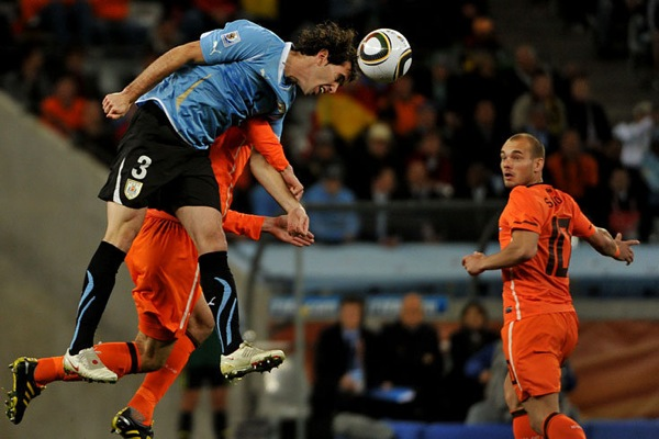 Holland against Uruguay