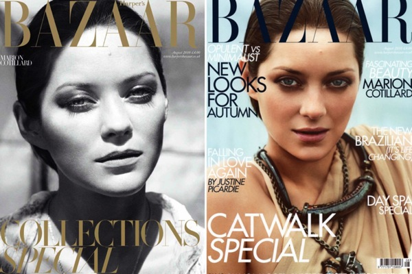 Марион Котийяр (Marion Cotillard) в журнале Harper's Bazaar UK