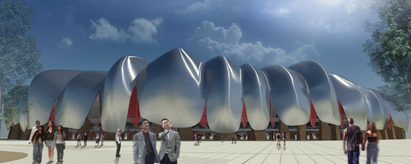 New Datong Sports Park by Populous