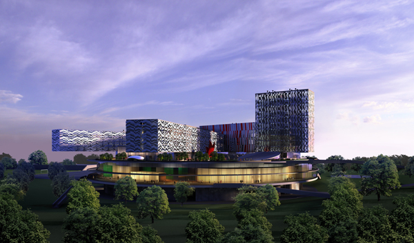 SKOLKOVO Campus (Dusk view from river).jpg