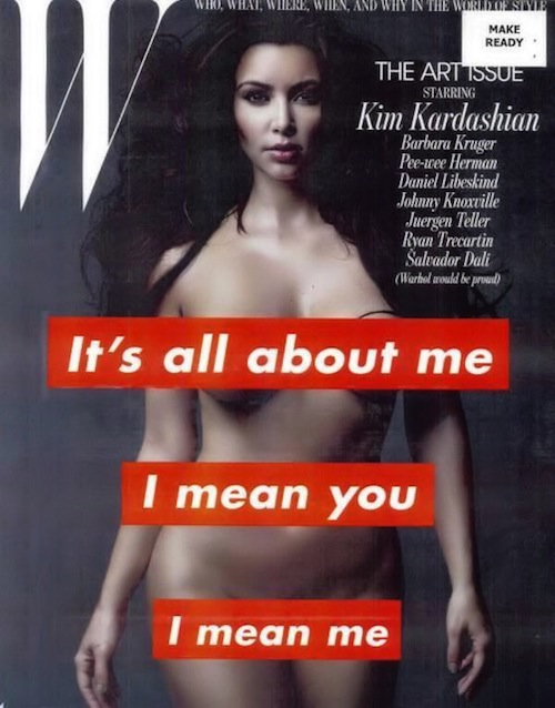 Kim Kardashian naked in W Magazine