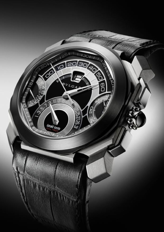 Bulgari by Gerald Genta Octo Quadri-Retro Chronograph