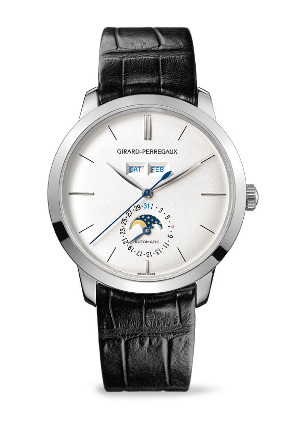 Girard-Perregaux 1966 Full Calendar in White Gold