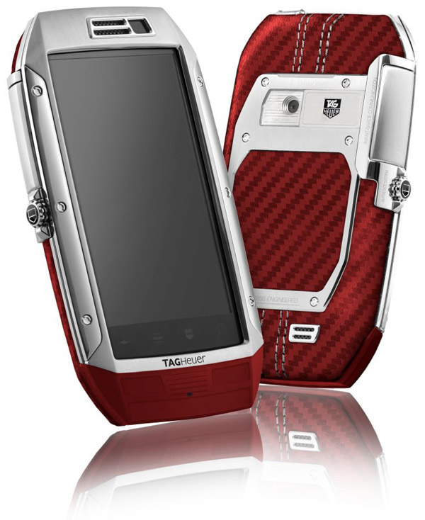 TAG Heuer LINK - Stainless steel & Red Caron Leather.jpg
