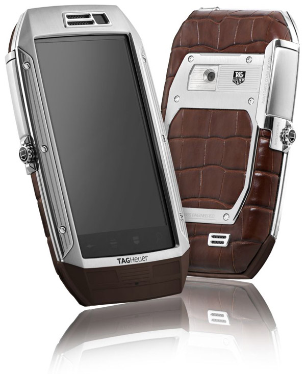 TAG Heuer Link - Stainless Steel & Brown Alligator.jpg