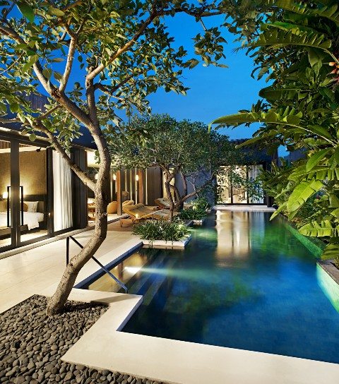 W Bali_Marvelous Two Bedroom Villa Retreat at dusk.jpg