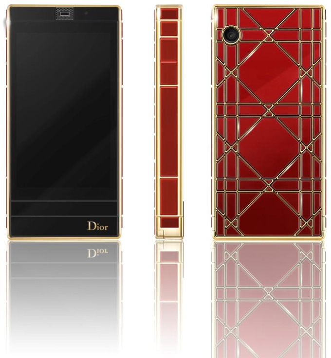New Dior phone - Red & Gold.jpg