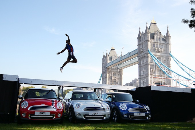 Презентация автомобилей MINI London 2012 Edition