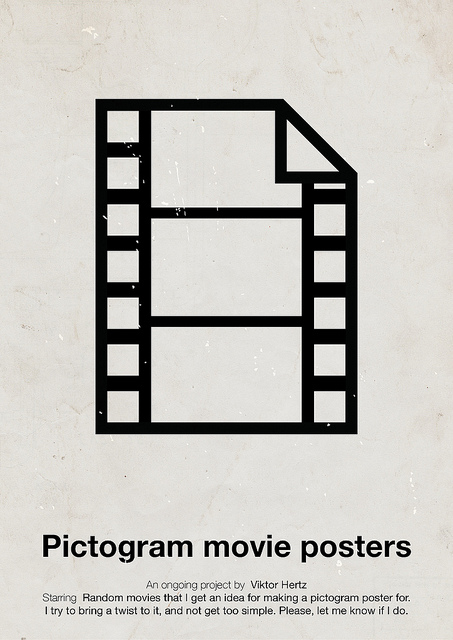 pictogram Movie posters by Viktor Hertz 01.jpg