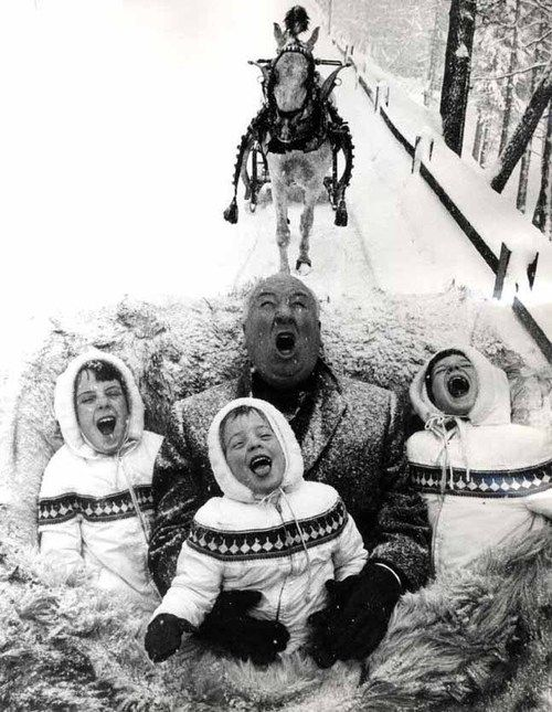Alfred Hitchcock and his kids.jpg