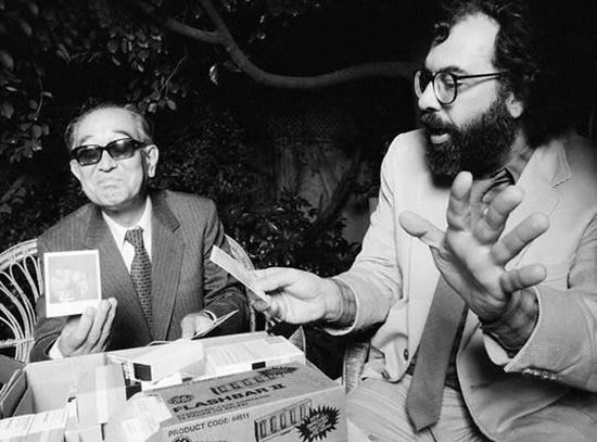 Francis Ford Coppola shows Akira Kurosawa his new polaroid.jpg