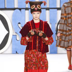 New York Fashion Week: Anna Sui осень 2012