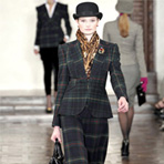 Ralph Lauren осень 2012 | New York Fashion Week