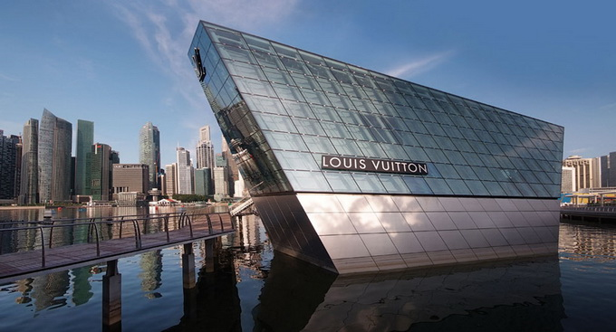 Остров  Louis Vuitton