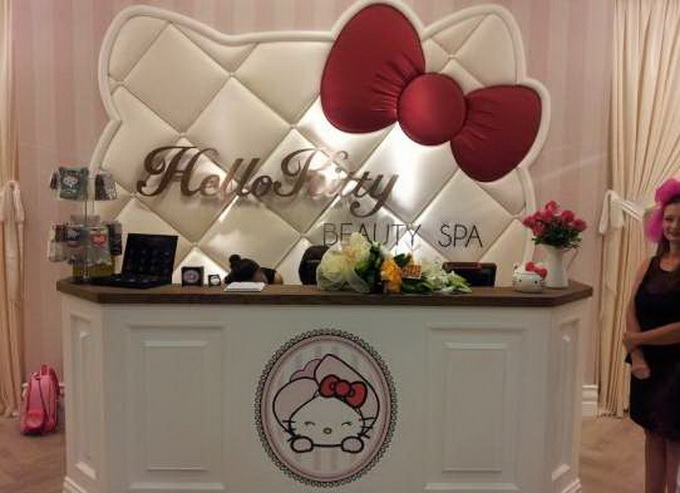 Hello Kitty Beauty Spa в Дубае