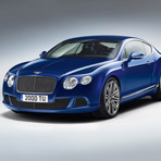 Обновленный Bentley Continental GT Speed