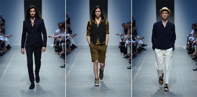 Milan Fashion Week: Diesel Black Gold весна-лето 2013