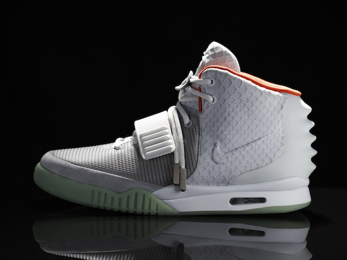 Кроссовки NIKE Air Yeezy II Special Edition от Kanye West