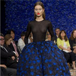 Paris Haute Couture Fashion Week: Christian Dior Осень-зима 2012-2013
