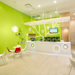 Bluberi Frozen Yogurt Shop в Вирджинии