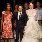 New York Fashion week: Zac Posen весна-лето 2013