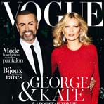 Кейт Мосс и Джордж Майкл в Vogue Paris
