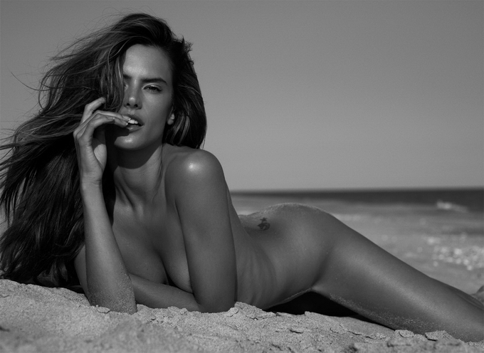 Permanent Link to Sexy Alessandra Ambrosio Hits the Beach for Made in Brazi