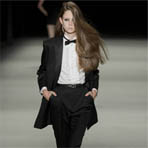 Paris Fashion Week: Saint Laurent весна 2014